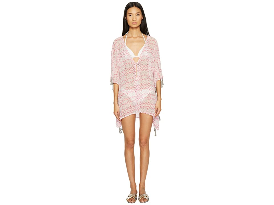 Letarte Ombre Beach Shirt Cover-Up (Pink Multi) Women
