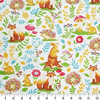 Best woodland flannel fabric by the yard Reviews