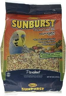 Higgins Sunburst Parakeet Bird Food Gourmet Blend Parakeet Bird Food Mix 2 lb. bag. Fast Just Jak's Pet Market