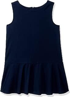 Gymboree Girls' Big Sleveless Uniform Pleated Woven Dress,