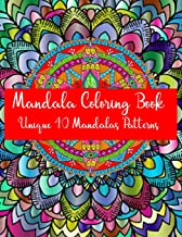 Mandala Coloring Book Unique 40 Mandalas Patterns: Mandela Coloring Book For adult Relaxation and Stress Management Coloring Book who Love Mandala ... Coloring Pages For Meditation And Happiness