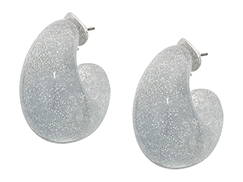 Kate Spade New York Adore-Ables Glitter Huggies Earrings