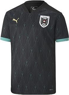 PUMA Jungen ÖFB Away Shirt Replica Jr Trikot