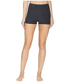 Spacedye Circuit High-Waisted Short Shorts