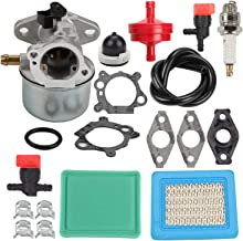 Mannial 799868 498170 Carburetor for Briggs and Stratton 497586 498254 497314 497347 497410 799872 790821 498255 498966 496115 698444 14111 124T02 124T05 124T07 126M02 Engine with Air Filter