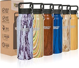 Best Healthy Human Water Bottle, BPA Free Sports Travel Stainless Steel Insulated Water Bottles Review