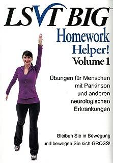 LSVT BIG Homework Helper! DVD - German