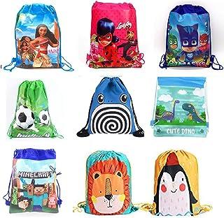 Sillyme Cartoon Printed Dori Bag for Kids Favor / Haversack Bag   Birthday Party Return Gift (for Boys(24 pcs))