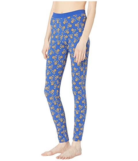 368d726d6e9045 Moschino Jersey Stretch Leggings w/ Teddy Bears All Over at Luxury ...