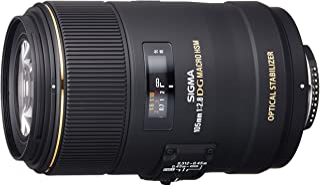 Sigma 105 mm F2,8 EX Makro DG OS HSM-Lins (62 mm filtergänga) för Nikon Objektivhållare, Svart