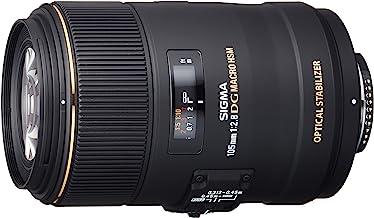 Sigma EX DG Macro NAFD OS HSM - Objetivo para Nikon (Distancia Focal Fija 105 mm, Apertura f/2.8-22, diámetro 79 mm) Color Negro