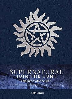 Supernatural 2019-2020 Weekly Planner