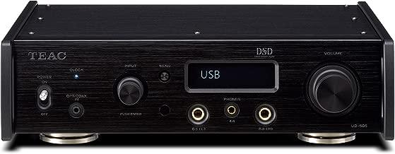 TEAC USB DAC/HEADPHONE AMPLIFIER UD-505-B (BLACK)【Japan Domestic genuine products】
