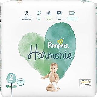 Pampers Harmonie maat 2 86 luiers 4-8 kg, 2 stuks