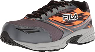 Fila Memory Meiera 2 Slip Resistant Composite Toe Trail Running Shoe mens Food Service Shoe