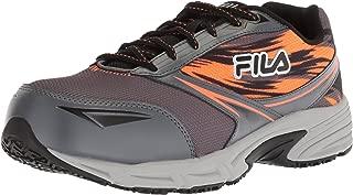 Fila Mens Memory Meiera 2 Slip Resistant Composite Toe Trail Running Shoe Multi Size: