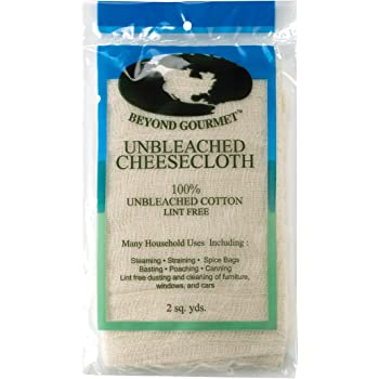 Beyond Gourmet Extra-fine Unbleached Cheesecloth 100-Percent Cotton, Chlorine Free, UNB Cheese Cloth