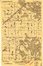 YellowMaps Gemmell MN topo map, 1:62500 Scale, 15 X 15 Minute, Historical, 1919, Updated 1919, 27.23 x 21.53 in