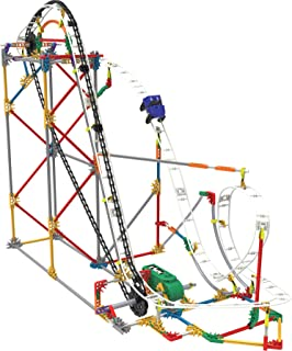 K'NEX Blizzard Blast Roller Coaster Building Set