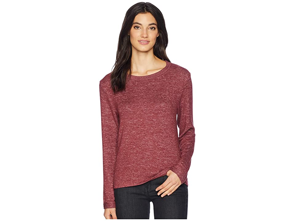 Roxy Chasing You Long Sleeve Top (Tawny Port Heather) Women 16bb0eeb9