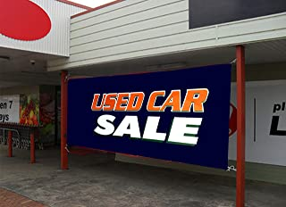 UGOS Excellent Quality-Used Car Sale Banner Sign- Ready to Use Perfect for Outdoor Use (24 x 72)
