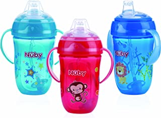 Nuby 360 2 Handle Comfort Cup, Boy, 9 Ounce, Colors May Vary