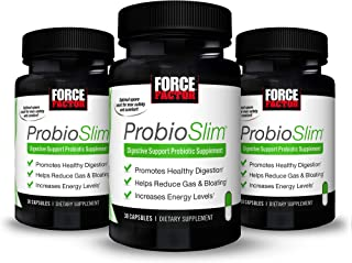 ProbioSlim Probiotic and Weight Loss Supplement for Women and Men with Probiotics, Burn Fat, Lose Weight, Reduce Gas, Bloa...