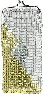 White/Gold/Silver Vintage Luxuriant Soft 4mm Metallic Mesh (Full Pack 120s) Cigarette Case Purse