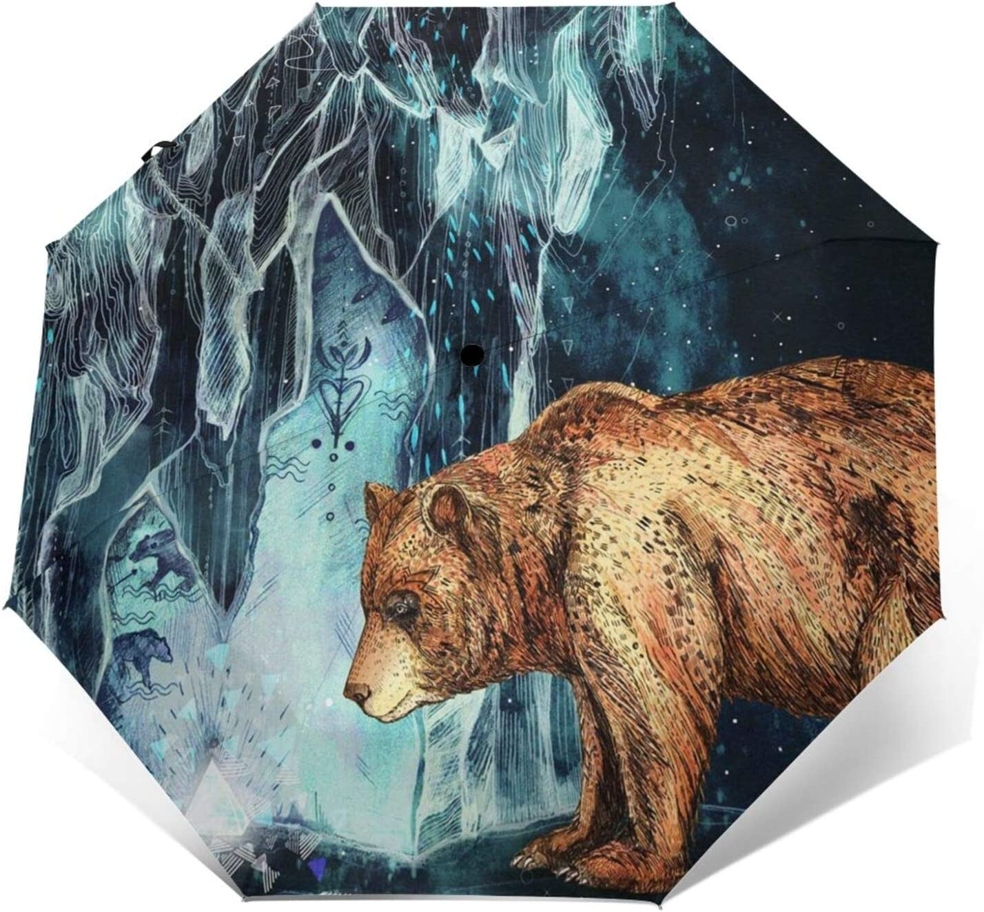 SWEET Large-scale sale TANG Bear Cave Free Shipping Cheap Bargain Gift Bearcave Travel Windproof SunRain Umbrella