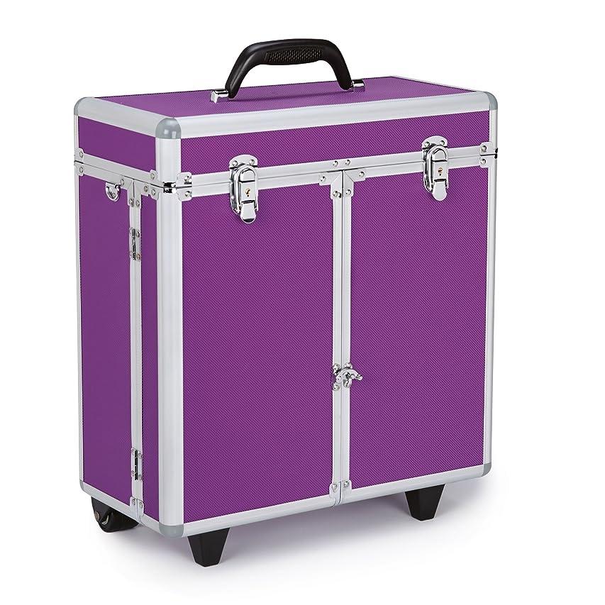 人事バクテリア壊滅的なTop Performance Professional Tool Cases with Wheels - Durable and Versatile Cases Designed for the Storage of Grooming Tools and Supplies for the Professional Pet Groomer, Purple by Top Performance