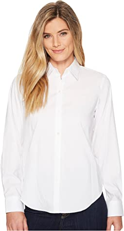 5aa8b0ac Lauren ralph lauren oversized cotton poplin shirt | Shipped Free at ...