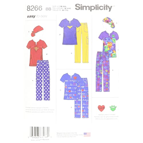 picture regarding Free Printable Scrub Hat Patterns referred to as Sewing Types for Scrubs: