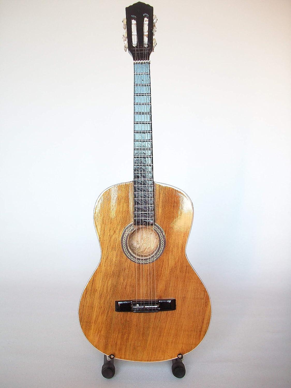 Mini guitarra para coleccionistas réplica de the '70s