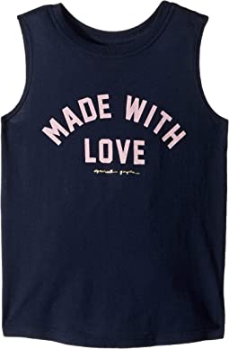 With Love Muscle Tank Top (Little Kids/Big Kids)