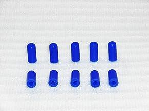 Cool Nuts シリコンキャップ 内径4mmx10個入り ブルー CP04-10-BU