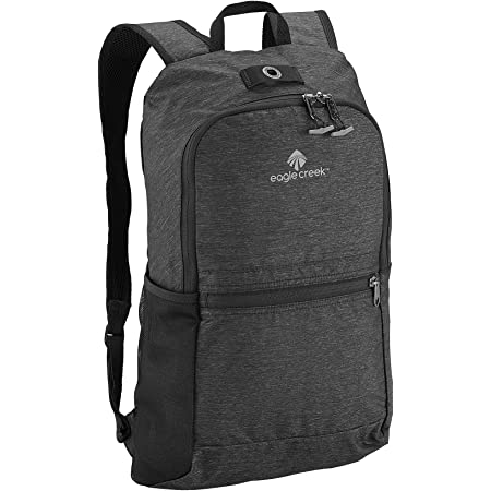 Eagle Creek Ultra Leichter Faltbarer Daypack mit Netzfach für Trinkflasche, schwarz