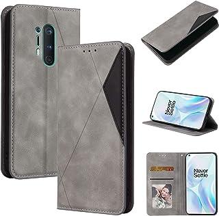 LODROC Lederen Portemonnee Case voor OnePlus 8Pro, [Kickstand Feature] Luxe PU Lederen Portemonnee Case Flip Folio Cover m...