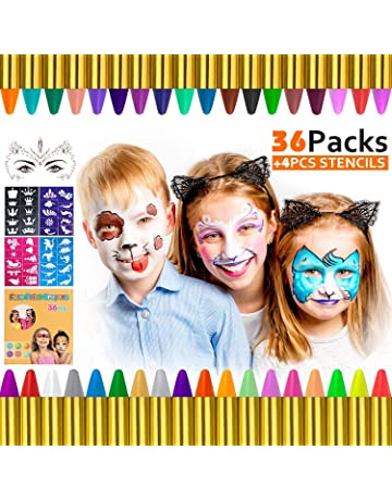 Pintura facial para disfraces   Amazon.es