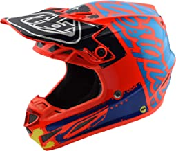 2018 Troy Lee Designs SE4 Composite Factory Helmet-Orange-S