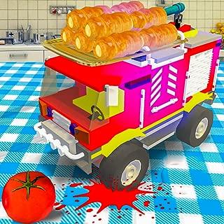 Toy Car Crush: Food Adventure