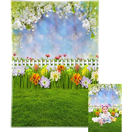Material and Size Options Available Floor Easter /& Spring Drops Blue My Mind Photo Background Fabric Backdrop