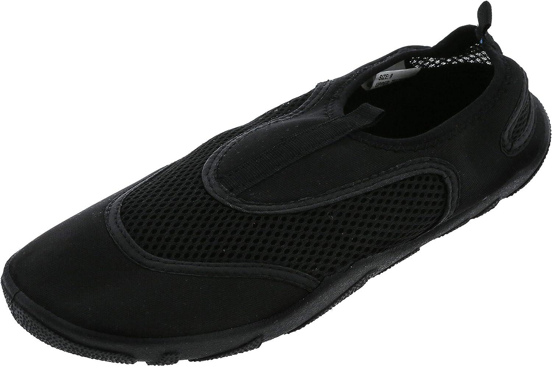 Capelli New York Mens Miami Mall Neoprene Black Mesh Aqua item and Shoes