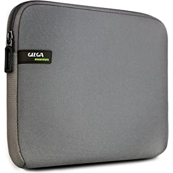 Gizga Essentials Laptop Bag Sleeve Case Cover for 15.6-Inch Laptop MacBook (Grey)