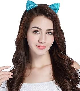 CAKYE Halloween Headband Cat Ears Holiday Cosplay Party Costume