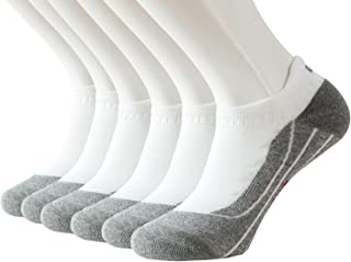 Feetalk Odor Resistant Cushioned Ankle Tab Sock 6 Pack Running Compression Arch Support Athletic Low Cut Socks