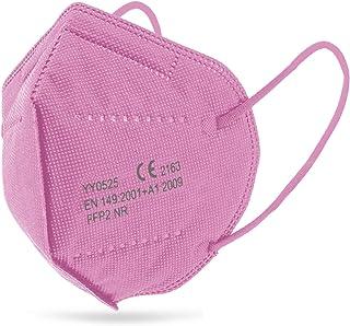 Mascarilla FFP2 Rosa Ultra Protección, caja de 25 unidades
