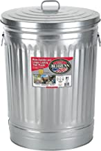 Behrens 1270 31-Gallon Trash Can with Lid