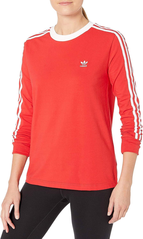 adidas Originals Women's 3 Stripes Long Sleeve T-Shirt