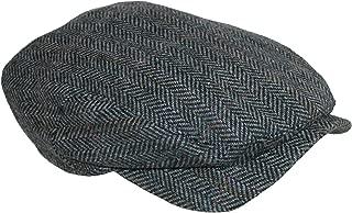 Jacob - Ivy Style Wool Herringbone Cap