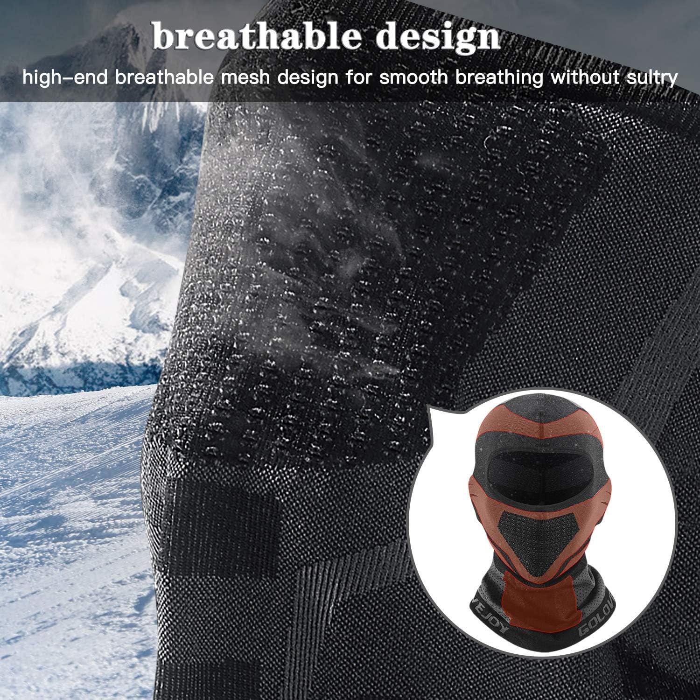 Newest Balaclava Face Mask, Warm Windproof Ski Mask, Motorcycle Neck Warmer Hood Winter Gear for Men Women